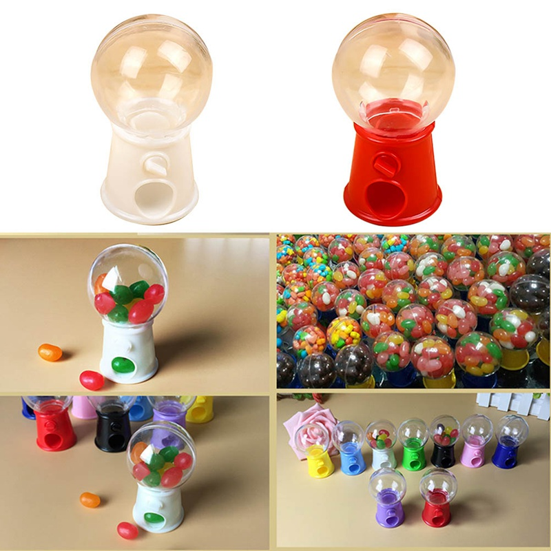 Hot New Cute Sweets Mini Candy Machine Bubble Gumball Dispenser Toy Christmas Gifts For Kids Toys For Children