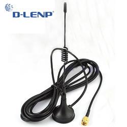 Dlenp 433 МГц 5dbi телевизионные антенны 433 МГц GSM SMA разъем w/Магнитная база для Ham радио усилитель Сигнала Беспроводной ретранслятор