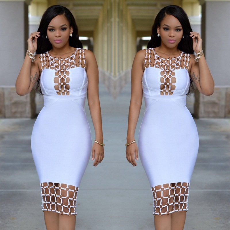 Buy dinner dress white and get free shipping on AliExpress.com
