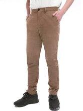 Pioneer Camp 2019 dorywczo spodnie męskie odzież marki wysokiej jakości jesień długi, Khaki elastyczne spodnie Plus Size męskie spodnie AXX902191