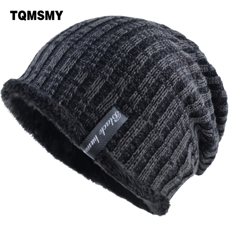 TQMSMY Unisex Winter Hat Men Knitted Wool Beanie Skullies Women Casual Caps Solid Colors Ski Gorros Cap Casquette Hats TMS10 unisex illest letter hat gorros bonnets winter cap skulies beanie female hiphop knitted hat toucas outdoor wool men pom ball