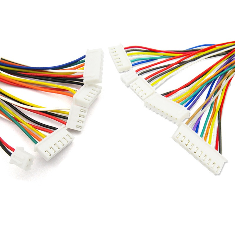 XH2.54 <font><b>XH</b></font> <font><b>2.54mm</b></font> Wire Cable Connector 2/3/4/5/6/7/8/9/10 Pin Pitch Male Female Plug Socket 30cm Wire Length 26AWG JST XH2.54 image
