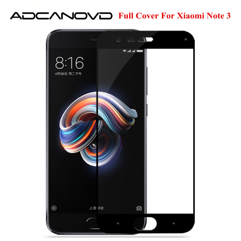 9H 2.5D Tempered Glass For Xiaomi Mi Note 3 Full Cover Screen Protector Protective Glass For Xiaomi Mi Note3 Glass Film 5.5