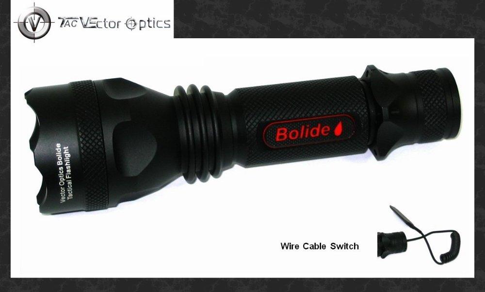 Mega Sale #429808 Vector Optics Tactical LED Flashlight