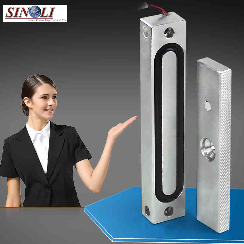 New 110KG/240LB Holding Force Weatherproof Electromagnetic Lock for Intercom or Access Control System new arrival 1000 kg 2200lb holding force electric shear magnetic lock for access control or intercom system