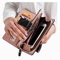 Горячие Продаж Женские Кошельки Молния доллар цена Кожаный бумажник Мужчины/Женщины Кошельки/сцепления carteira feminina