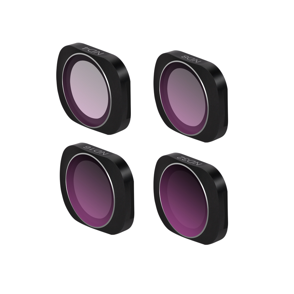 Image 4 - New Optional Camera Lens Filter Kit OSMO POCKET ND4/8/16/32/64 PL CPL UV Filters Set for DJI OSMO POCKET-in Sports Camcorder Cases from Consumer Electronics