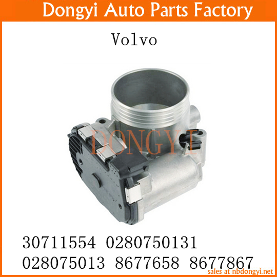 US $77 8 |New Throttle Body OEM 30711554 0280750131 028075013 8677658  8677867 for Volvo-in Throttle Body from Automobiles & Motorcycles on