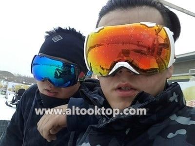 482345270768 Free shipping Motocross ski goggles Winter anti-ultraviolet& fog skiing  glasses Men snowmobile snow goggle Snowboard ski googles