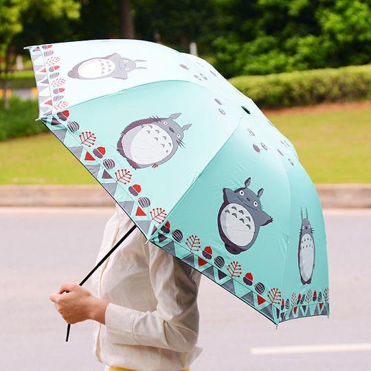 Totoro Cute Folding Umbrella (6 Colors)
