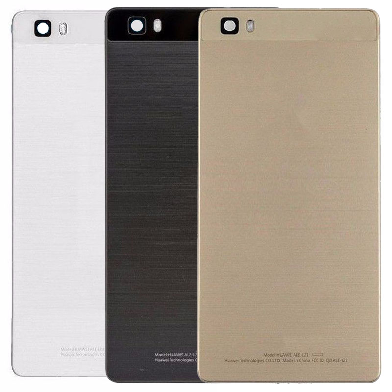 For <font><b>Huawei</b></font> Ascend <font><b>P8</b></font> <font><b>Lite</b></font> ALE-L02 ALE-L04 ALE-L21 ALE-L23 <font><b>Battery</b></font> Cover Replacement Back Door Rear Housing Cover <font><b>Case</b></font> image