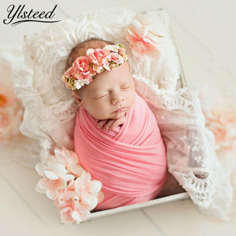 50*150 Cm Extra Weichem Stretch Neugeborenen Fotografie Wrap Für Fotoshootings Baby Foto Requisiten Neugeborenen Swaddle Fotografie Zubehör