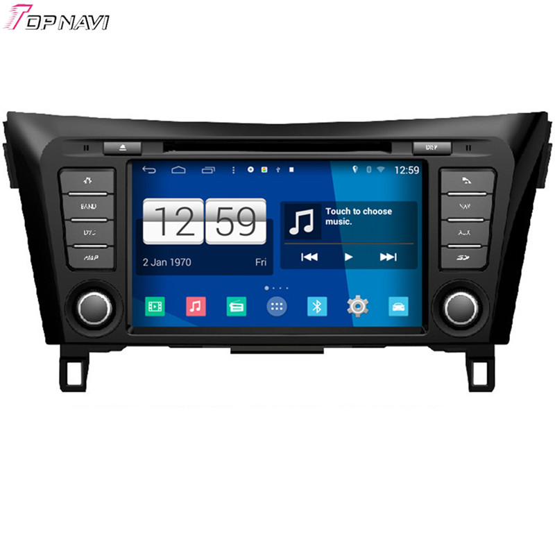 Free Shipping 8'' Quad Core S160 Android 4.4 Car DVD GPS For Nissan Qashqai 2014 With Stereo Radio Audio Wifi BT Mirror Link