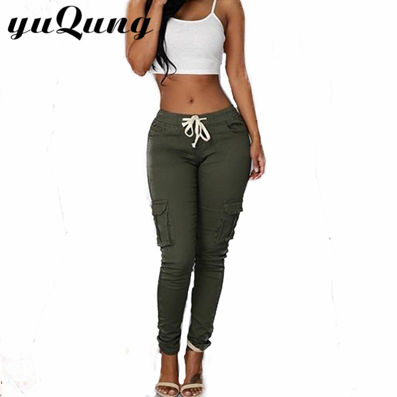 Awesome Army Green SKU  Wholesale VANCL Lexi Colorful Slim Pants Women
