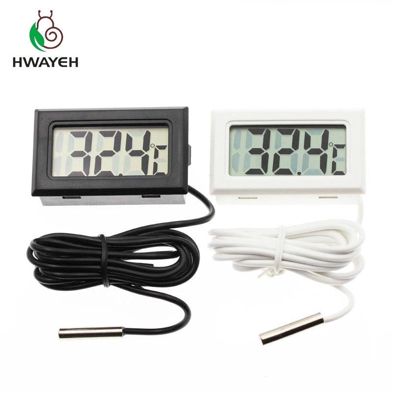 Цифровой термометр с ЖК-дисплеем для холодильника, температура-50 ~ 110 градусов