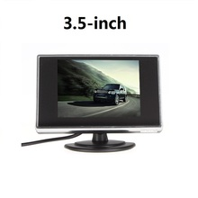 3.5 Inch Mini TFT LCD  Monitor 3.5 Display Screen Car Reverse Backup Parking Monitor for Car Rearview Rear View Camera DVD