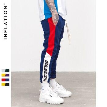 Side Stripe Pockets Men Sweatpants