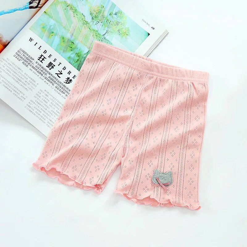 HTB1We6tPZfpK1RjSZFOq6y6nFXaY - Summer Girls Safety Lace Shorts Pants Underwear Leggings Girl Boxer Briefs Short Beach Pant For Female 3-13 Years Old