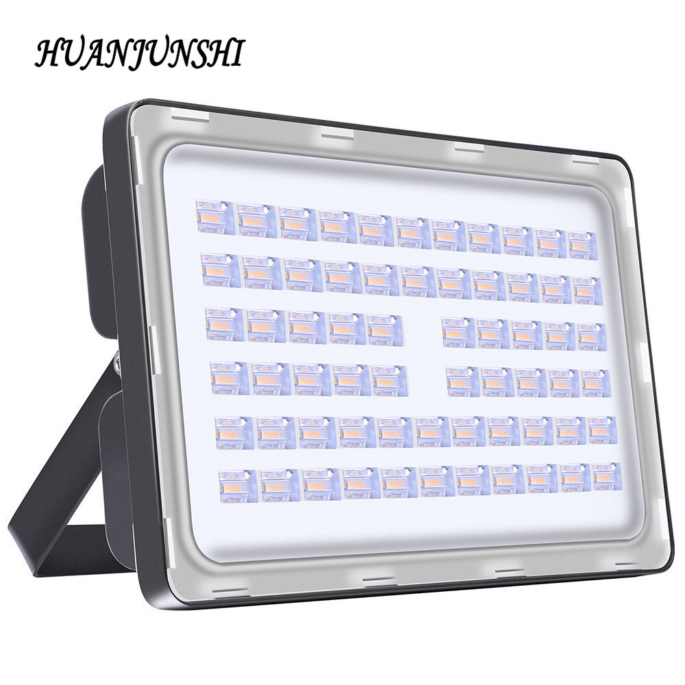 HOT 200W Cukup Watt AC 220V Kecerahan Tinggi Luar Lampu Luar Kalis Air Led Flood Light 100W 150W 200W Led Floodlight Lamp