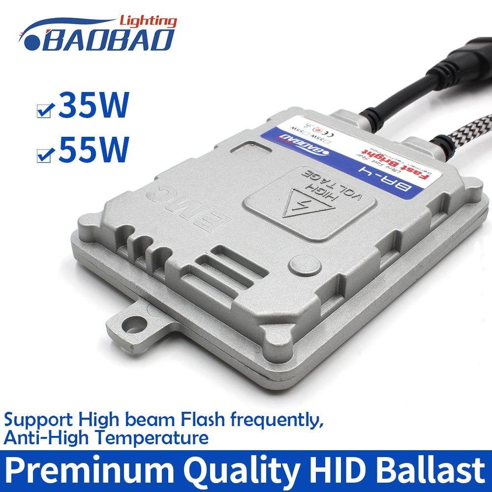BAOBAO 35W 55W Ultra Fast Bright Car HID Ballast Xenon Headlight Ballast BA-4 Plus+Full Digital Xenon Ballast Waterproof