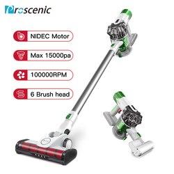 Aspiradora Proscenic P9 de alta potencia luz Led portátil de mano inalámbrico Stick vacío 3 en 1