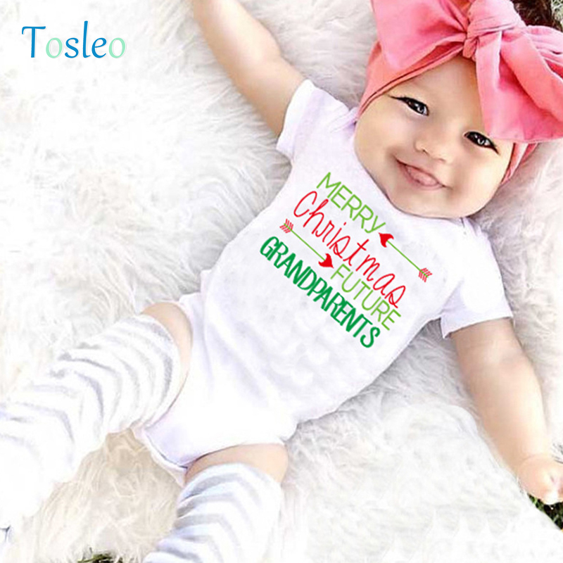 3900096611 2018 Karácsonyi bébi ruha Karácsonyi levél nyomtatott baba ruhák ...