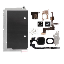 Full Set LCD Replacement Parts For iPhone 5G 5C 5S Home Button+Speaker+Cable+Front Camera  Spare Parts