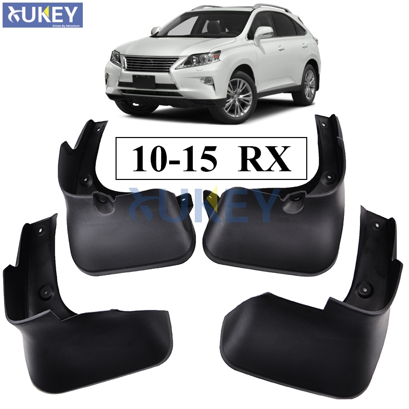 For LEXUS RX RX270 RX300 RX350 RX450H 2010 2015 Mudflaps Splash Guards Front Rear Mud Flap