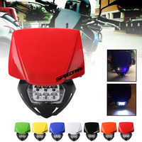SPEEDPARK Universal Motorcycle Dirt Bike LED moto Headlight Headlamp For KTM SX F EXC XCF SMR MX Enduro Supermoto 2014 2016