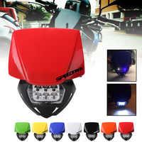 SPEEDPARK Universal moto rcycle suciedad bicicleta LED moto faro para KTM SX F EXC XCF SMR MX Enduro Super moto 2014-2016
