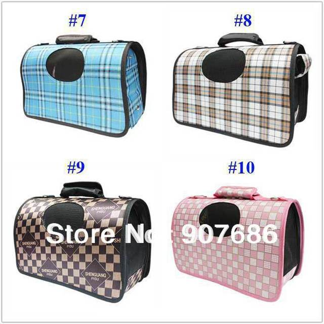 10 colors New Pet Dog Cat Comfort Travel Carrier Tote Bag Crate Airline S M L for pet dog Free Shipping #3444