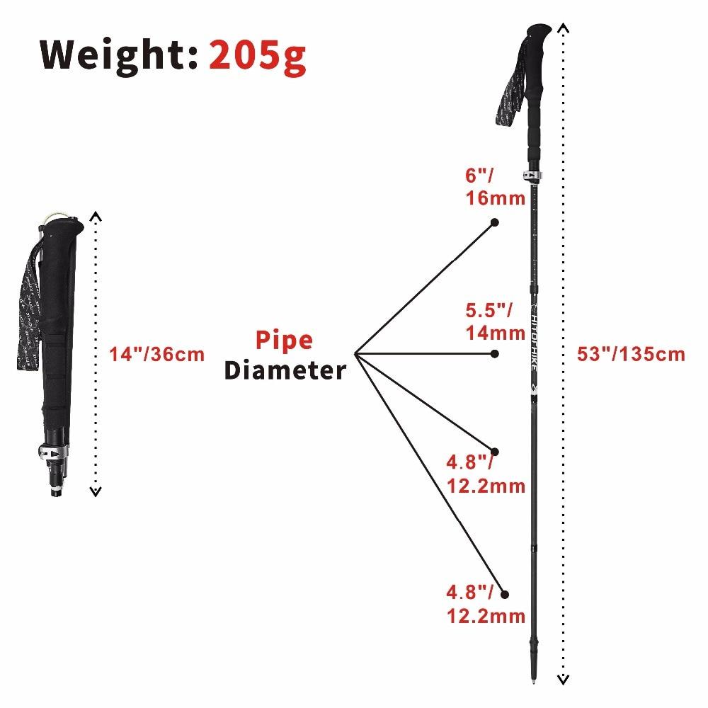 Ajustável 36-135 cm 205g 2018 novo item