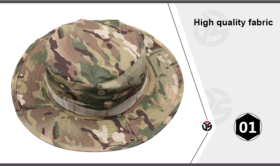 HTB1We8FXe3tHKVjSZSgq6x4QFXah - Multicam Tactical Airsoft Sniper Camouflage Bucket Boonie Hats Nepalese Cap SWAT Army Panama Military Accessories Summer Men