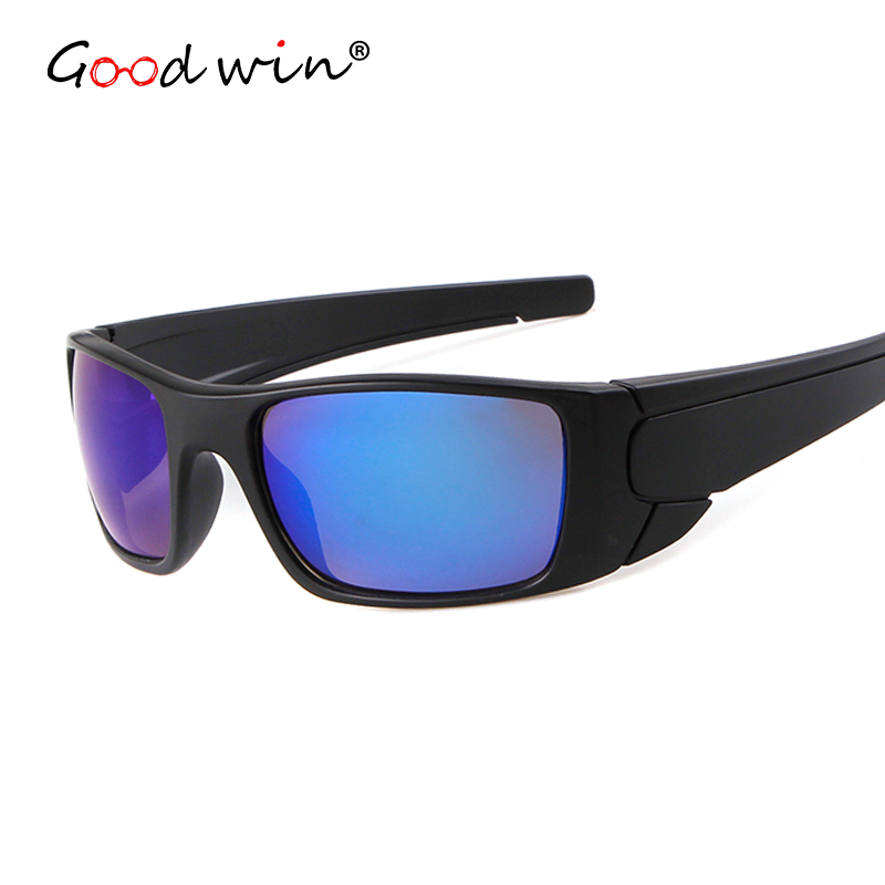 Good Win New Goggle Sunglasses Men Women Famous Brand Designer Outdoor Driving Sun Glasses For Men UV400 Mirror Kacamata Pria