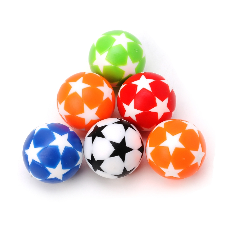 2pcs 32mm Plastic Table Soccer Ball Football Foosball Fussball Machine Parts