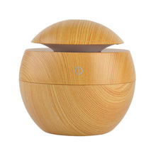 Wooden USB Air Humidifier and Freshener for Bedroom Decor