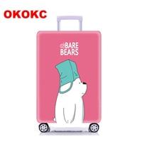OKOKC 모자 곰 탄성 두꺼운 여행