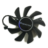 DFB802012M00T Video Cards Fan GTX690 GTX590 GPU Cooler For ZOTAC GeForce GTX 590/690 Graphics Card Cooling As Replacement