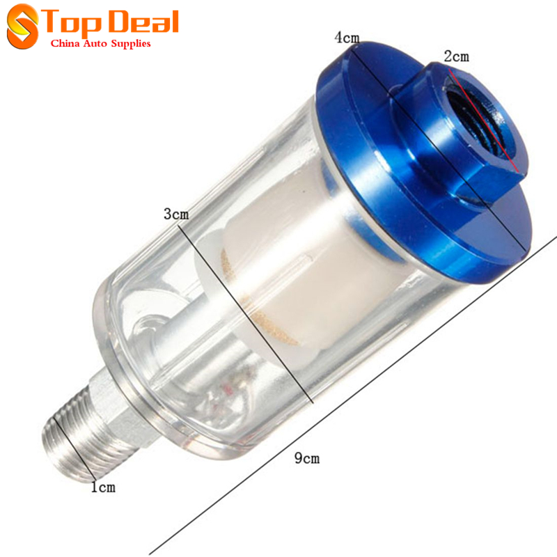 New Arrival Spray Gun Line Mini <font><b>Air</b></font> <font><b>Filter</b></font> Water Trap Clear <font><b>Long</b></font> Painting For Automobiles Surprise price