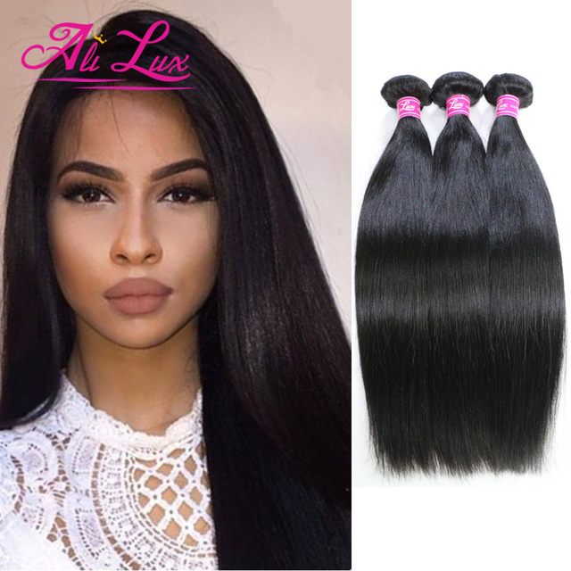 7a Indian Virgin Hair Straight 3pc True Glory Human Weave Bobbi Boss Raw
