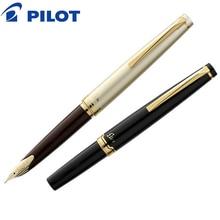 2018 Pilot Elite 95 s 14 К золотая ручка EF/F/M перьевая ограниченная версия карманная перьевая ручка цвета шампанского золото/черный идеальный подарок