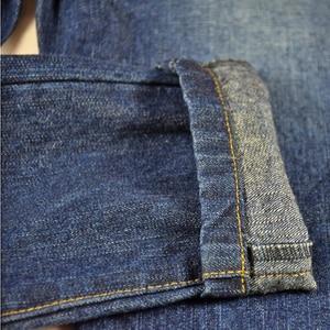 Image 5 - Детские джинсы штаны для мальчиков джинсы для подростков, брюки теплая осенне зимняя однотонная одежда с заклепками и эластичной резинкой на талии для маленьких мальчиков