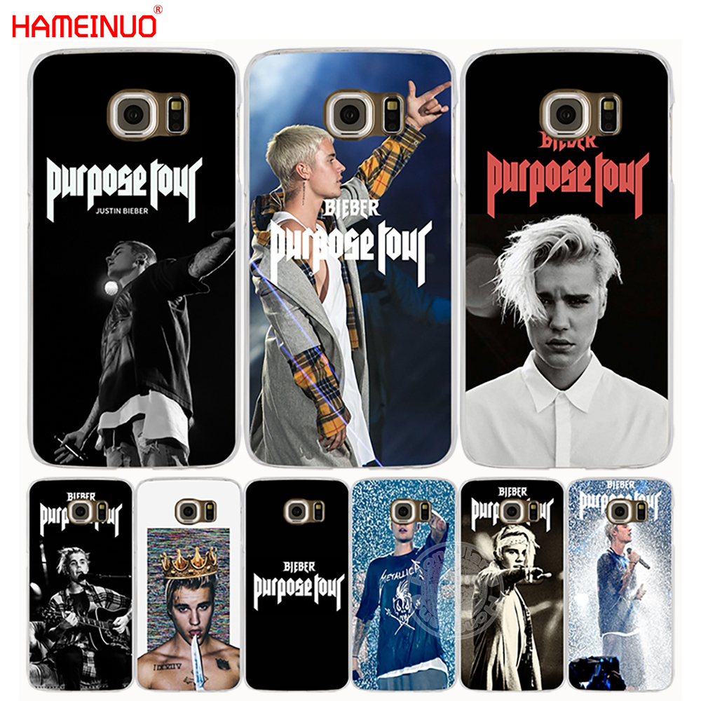 Delightful Colors And Exquisite Workmanship Novel Designs Hameinuo Justin Bieber Purpose Tour Cell Phone Case Cover For Samsung Galaxy E5 E7 Note 3,4,5 On5 On7 Grand G530 2016 Famous For Selected Materials