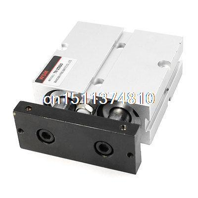 ФОТО 25mm x 20mm Dual Action Double Rod Guide Type Pneumatic Air Cylinder