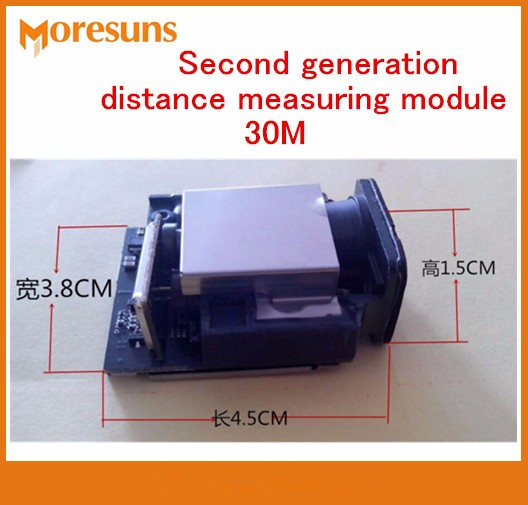 Free Ship Second Generation laser Distance Measuring Sensor 30M+-1mm Max Frequency 20HZ Distance Measuring Laser Sensor Module