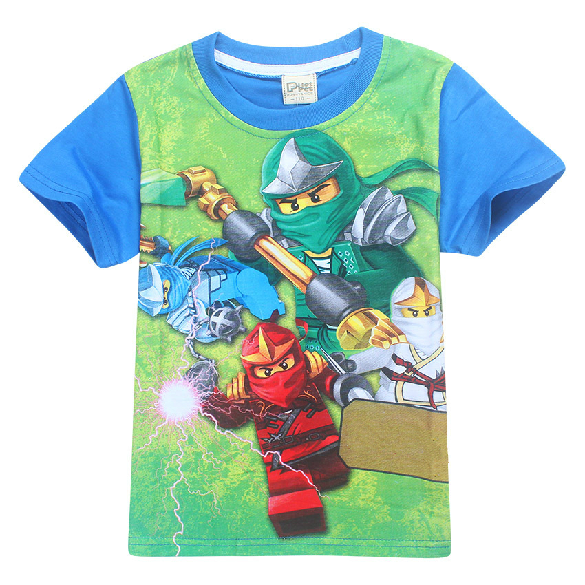 Summer Kids Boys T-shirt Children T Shirts Children Clothing Cotton Top Tees Boys Girls Kids Costume Boys Clothes ad children s mickey thick sets 2 10 age cotton sweater pants boys girls christmas t shirts trousers kids clothing clothes