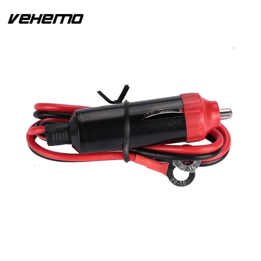Vehemo 1000A 45 Cm Kawat Rokok Lighter Cable Power Inverter Cord Plug Mobil Portable Pemantik Rokok Di Mobil Kabel