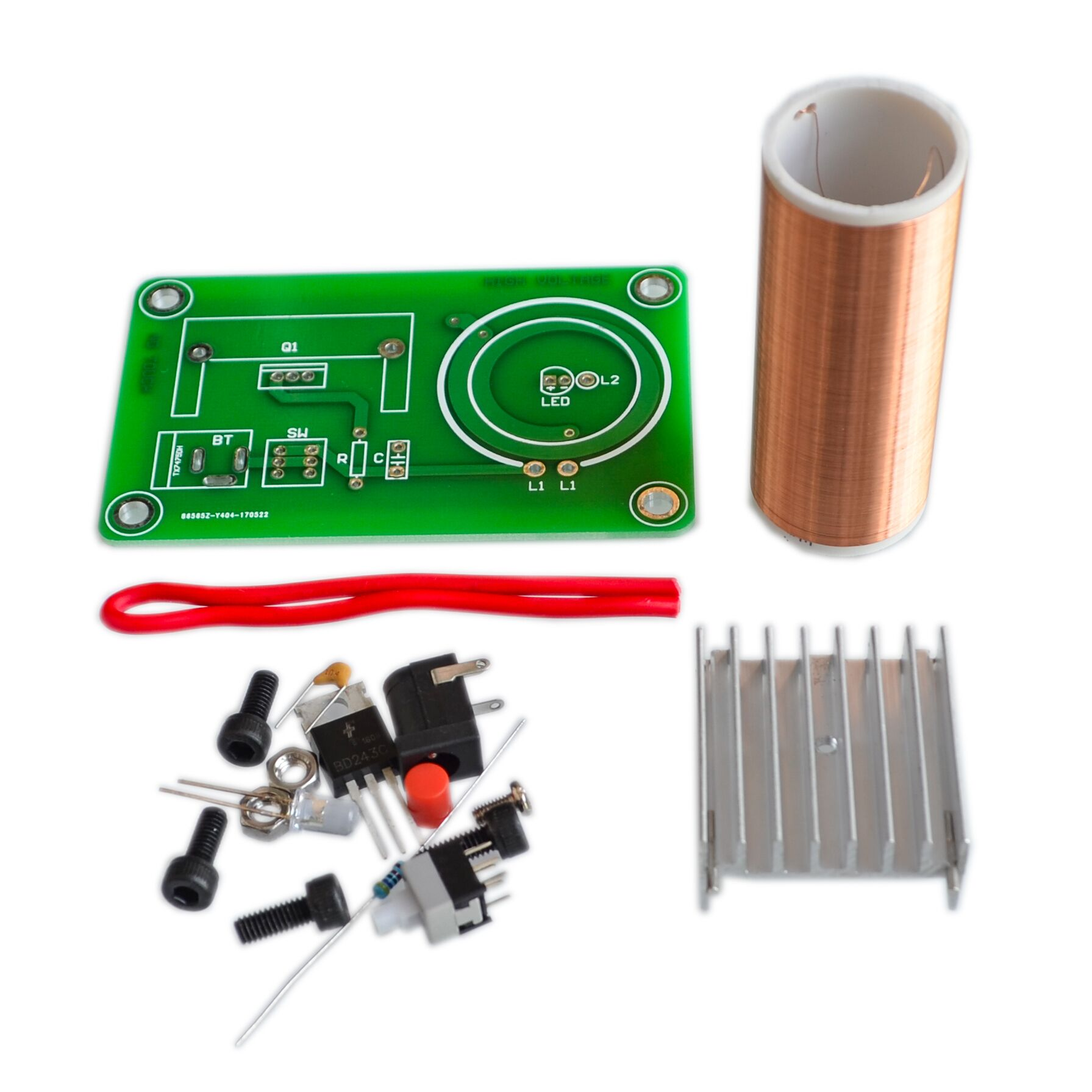 Electronic Components & Supplies Mini Wireless Music Musical Coil Loud Speaker Tesla Power Magic Board Diy Kit Toy Jx03 Module Under 20v Heat Sink Fan