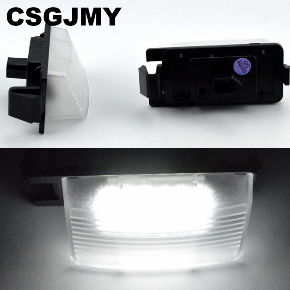 2/x Top LED SMD Number Plate Light Custom Limited