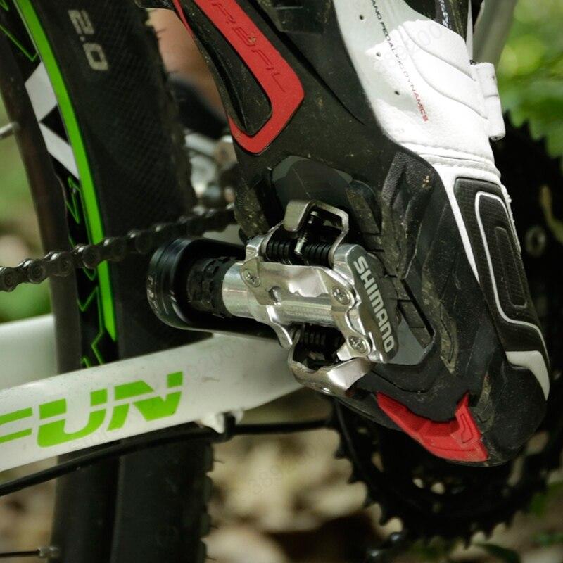 Shimano PD M520 pedales Clipless SPD MTB bicicleta carreras montaña bicicleta piezas PD-M520 - 6